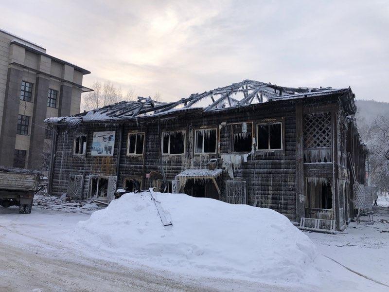 Следком возбудил уголовное дело халатности факту пожара вечерней школе Горно-Алтайска