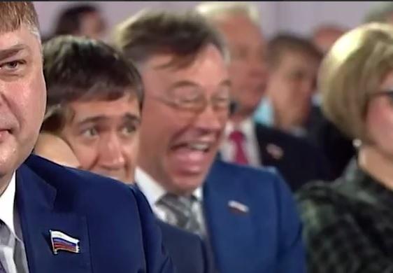 Лидер алтайских эсеров Александр Терентьев объяснил свой смех оглашении послания Владимира Путина