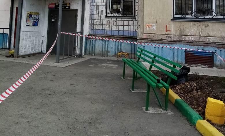 Школьники принесли гранату лавочку одном дворов Бийска