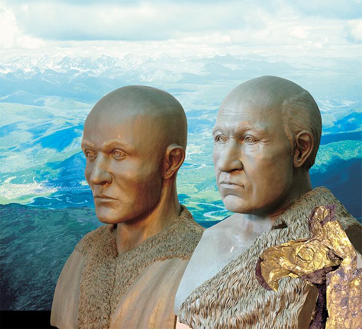 Ученые подтвердили смешанный европейско-монголоидный облик соплеменников алтайской принцессы Укока