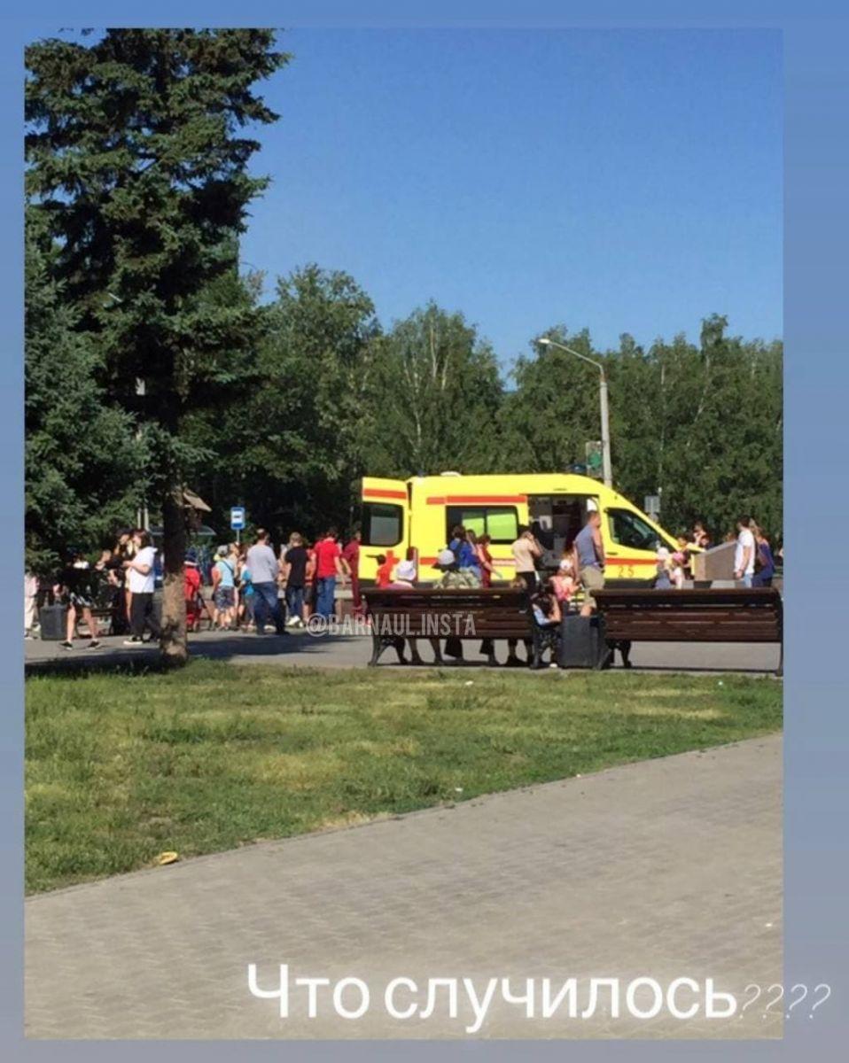 Мэрия напомнила запрете купания фонтанах после серьезных травм ребенка Барнауле