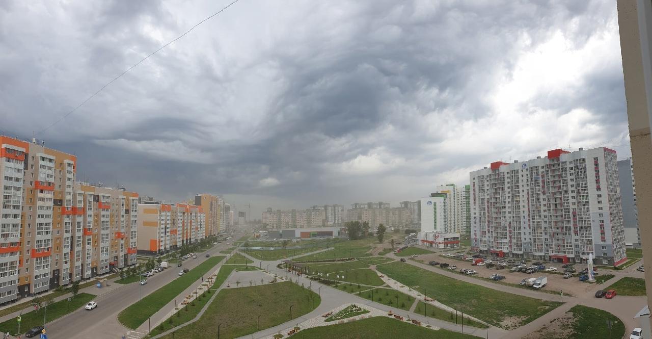 Дождь град ураган аномальную жару Алтайском крае сменит продолжительная буря