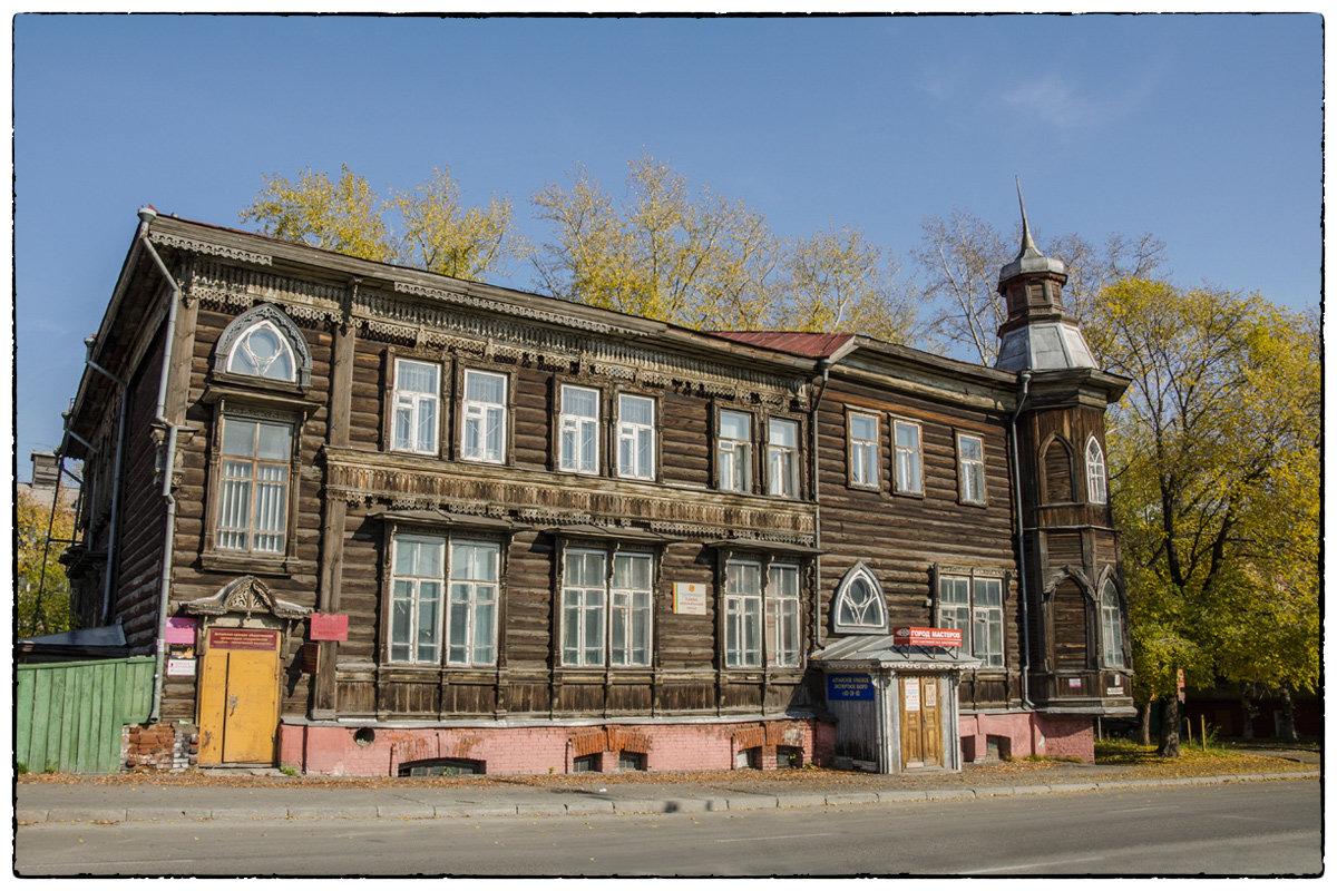 За план реновации известного архитектурного памятника зодчества Барнауле заплатят более млн рублей