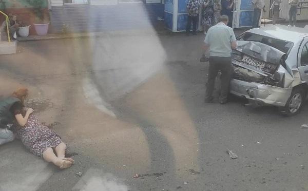 Водитель автобуса отказавшими тормозами устроил массовое с пострадавшими Бийске