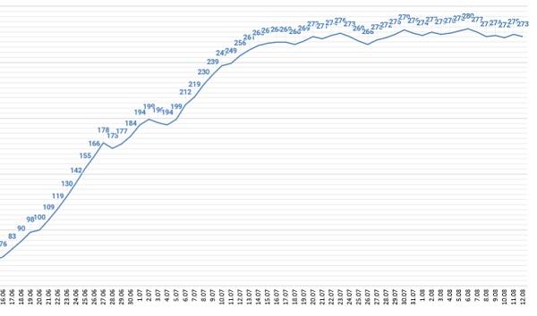 В Алтайском крае значительно возросло количество тяжелобольных пациентов COVID-19