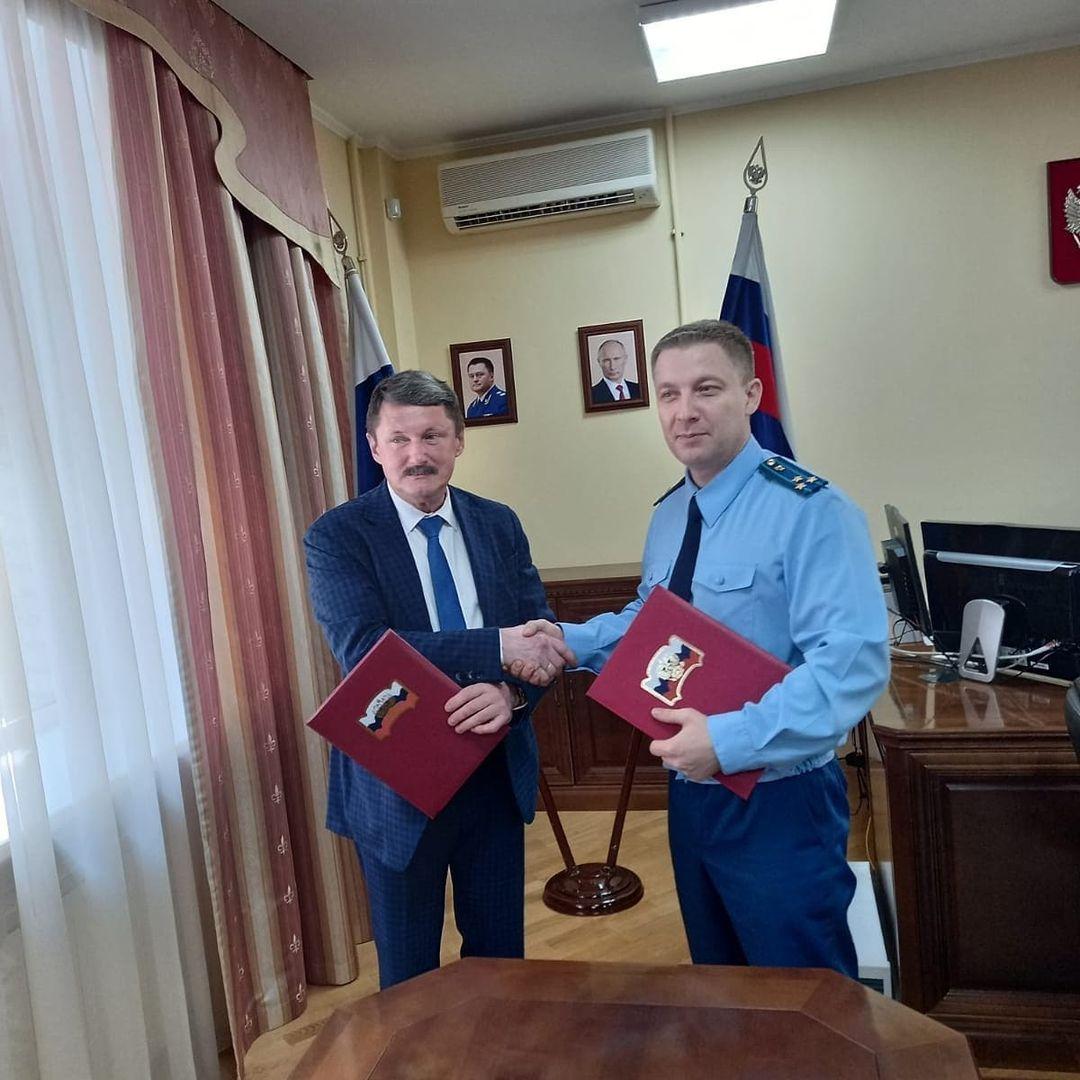 Бизнес-омбудсмен подписал соглашение сотрудничестве прокурором Алтайского края
